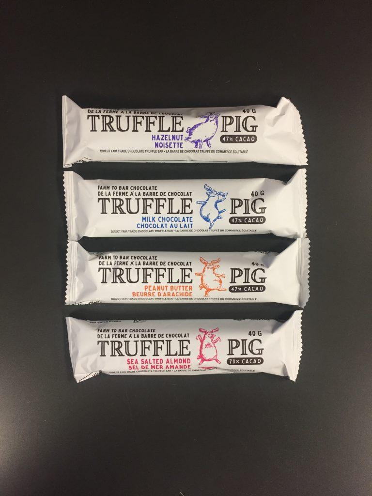 truffle pig chocolate bars