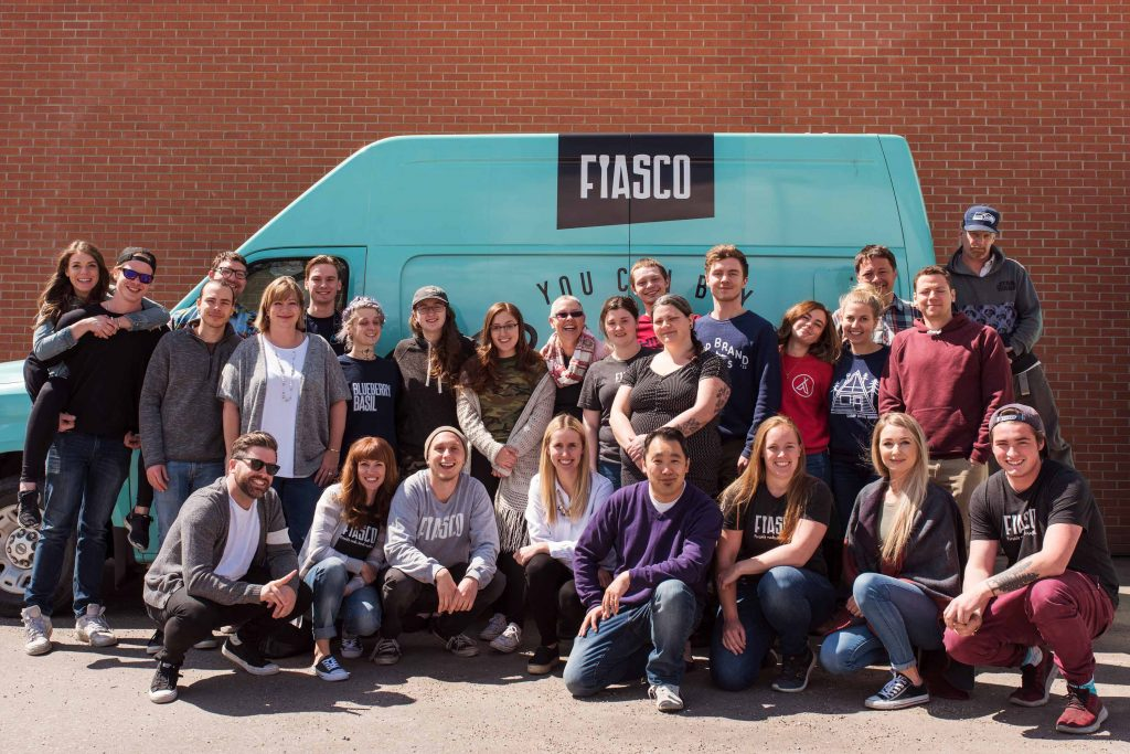 Fiasco Gelato Team Picture