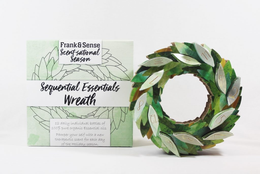 Essential Oils Wreath Calendar