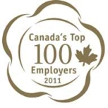 Canada's Top 100 Employers (2017, 2016, 2015, 2014, 2013, 2012, 2011, 2010, 2009, 2008, 2007, 2006, 2005)