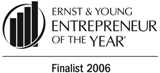 Ernst & Young Entrepreneur Of The Year Pacific Finalist (2011, 2006, 2005, 2004)