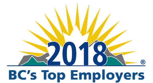 BC's Top Employers (2018, 2017, 2016, 2015, 2014, 2013, 2012, 2011, 2010, 2009, 2008, 2007, 2006, 2005)
