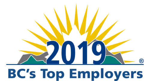 BC's Top Employers (2019, 2018, 2017, 2016, 2015, 2014, 2013, 2012, 2011, 2010, 2009, 2008, 2007, 2006, 2005)