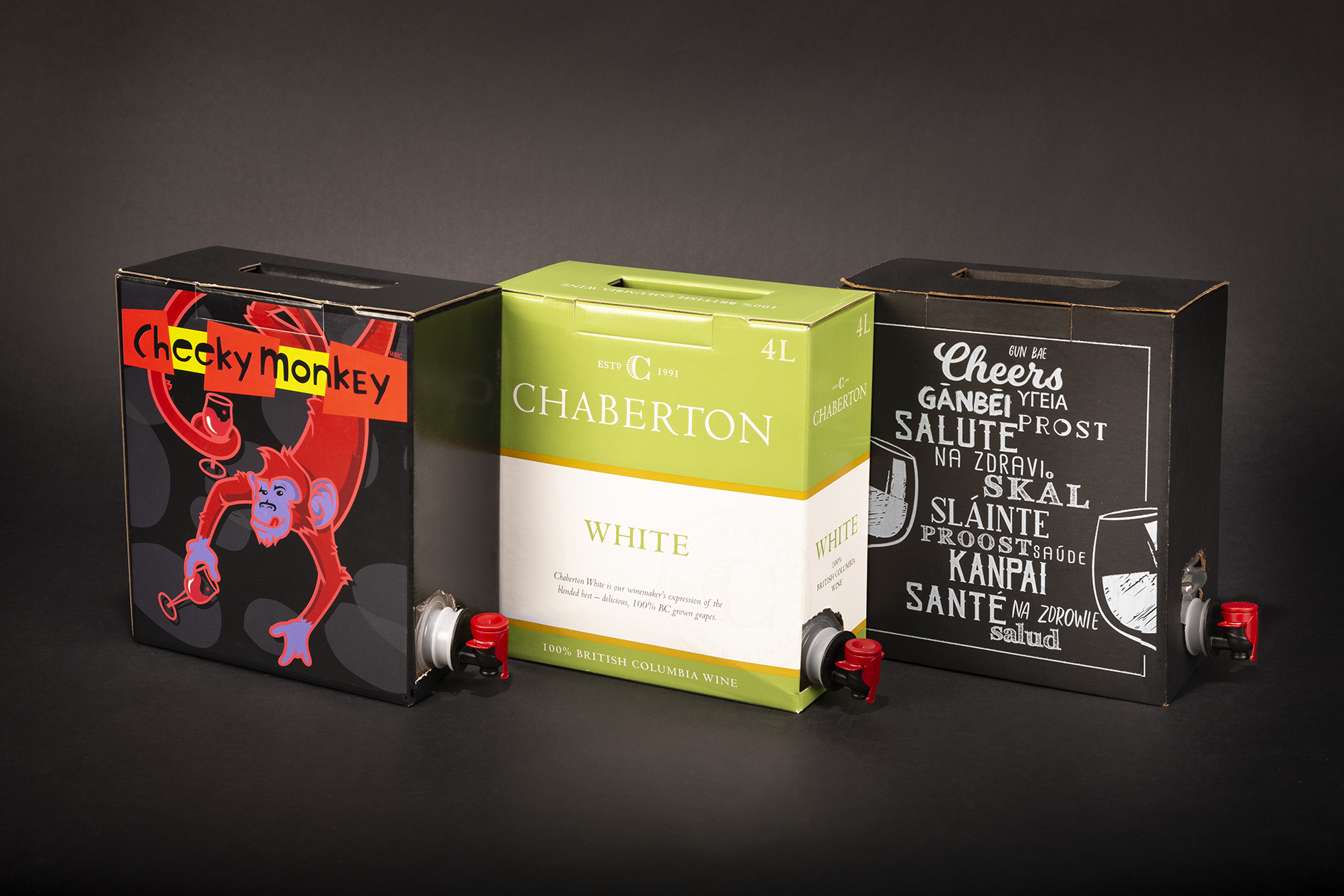 GLBC offers creative wine packaging from labels to retail