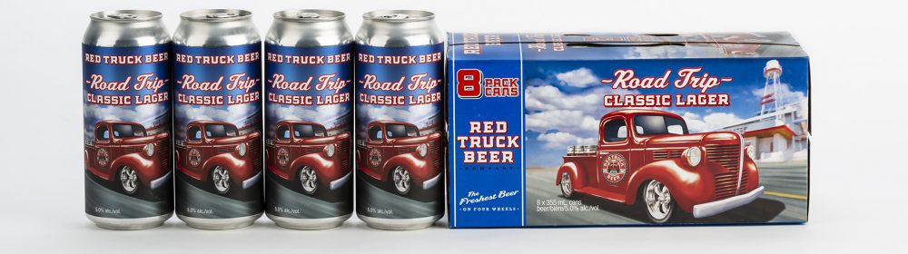 Red Truck Beer: A Label That Honours The Brand But Still Feels New