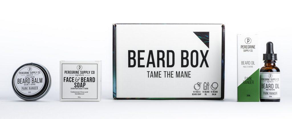 Peregrine Supply Co. custom packaging