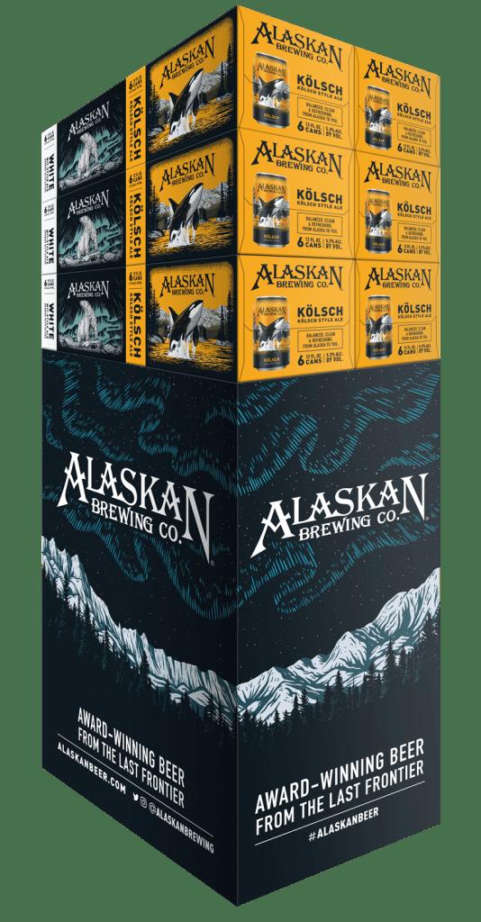 Custom display created for Alaskan brewing co