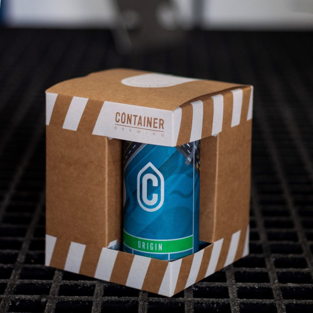 Container Brewing Custom Packaging