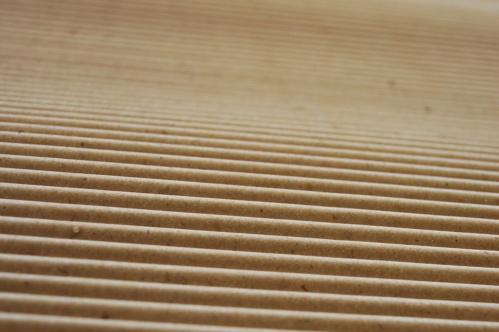 single face corrugated cardboard