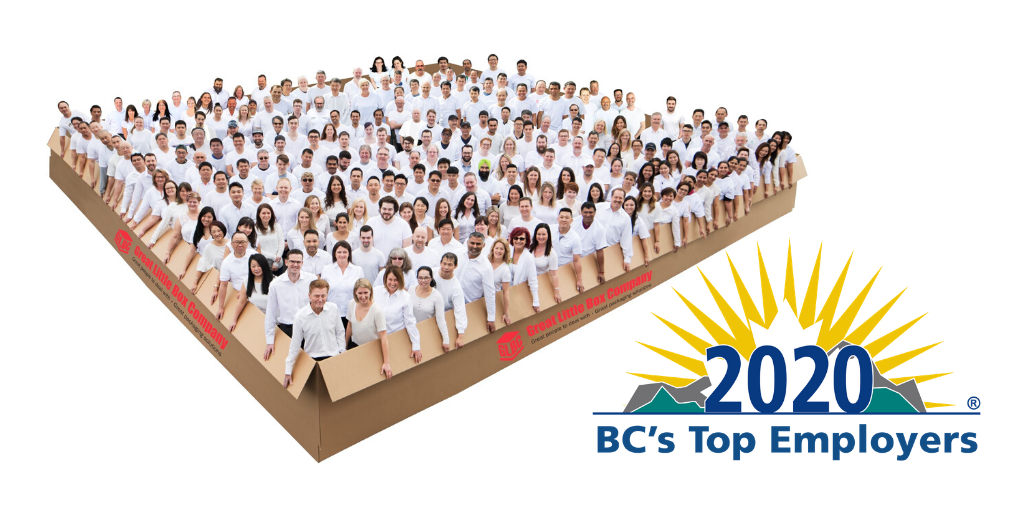 2020 BC Top Employers - Great Little Box Company