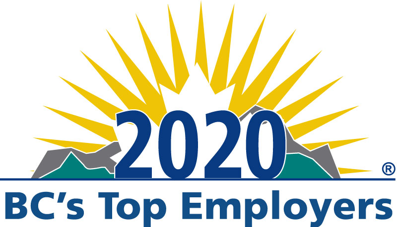 BC's Top Employers (2020, 2019, 2018, 2017, 2016, 2015, 2014, 2013, 2012, 2011, 2010, 2009, 2008, 2007, 2006, 2005)