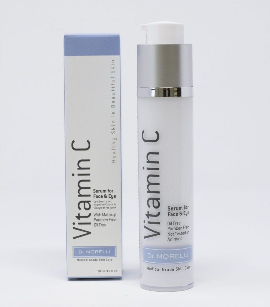 Di Morelli Vitamin C Serum with box on the side