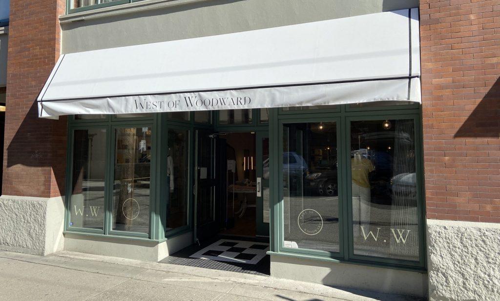 West of Woodward storefront