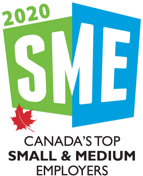 Canada's Top Small & Medium Employers (2020, 2019, 2018, 2017, 2016, 2015, 2014, 2013, 2012, 2011, 2010, 2009, 2008, 2007, 2006, 2005)