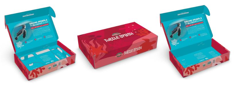 3D Renderings of the Turtle Splash™ Starter Kit