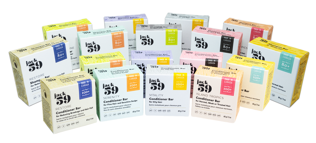 Jack59 – Shampoo and Conditioner Bars Packaging by Great Little Box Company