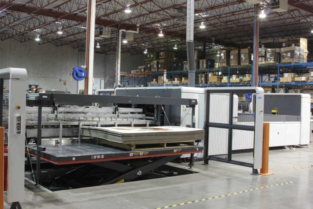 HP Scitex 15500 Printing Machine