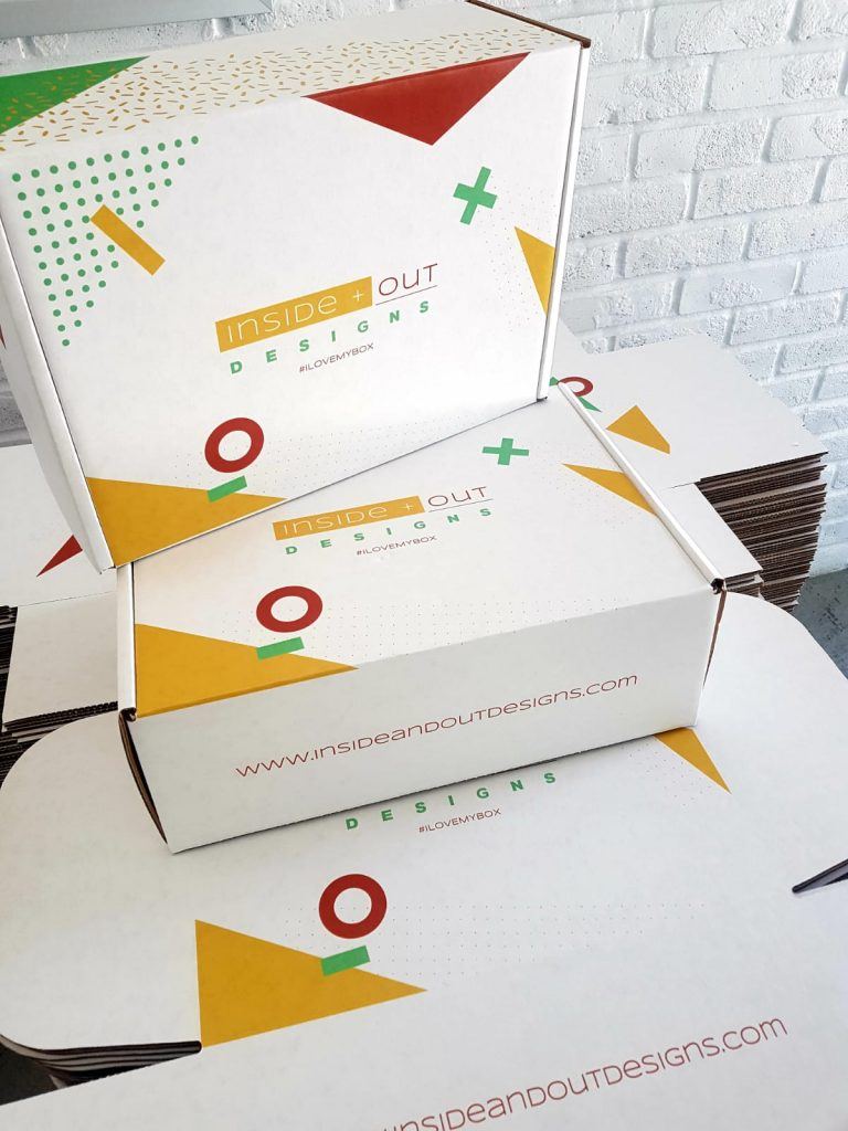 Inside + Out Design - E-Commerce Boxes