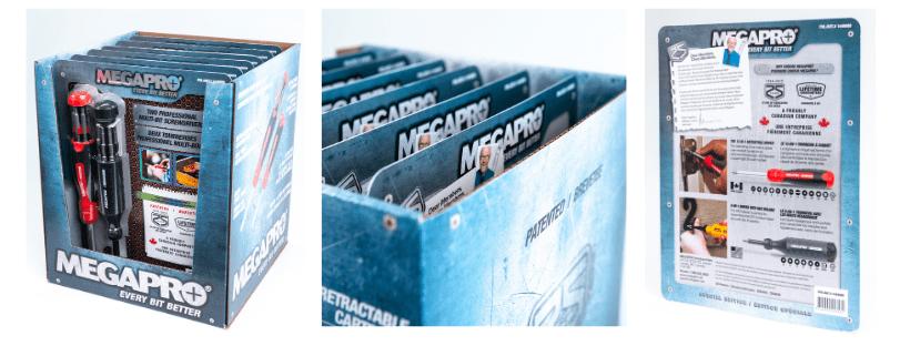 Megapro Tools - Two Professional Multi-Bit Screwdrivers