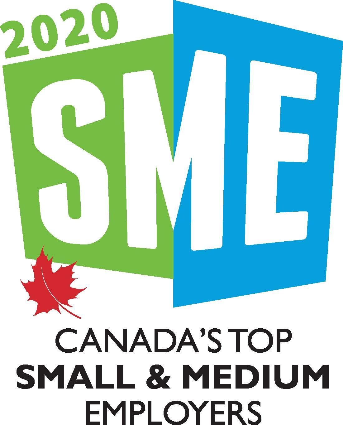 Canada's Top Small & Medium Employers (2020, 2019, 2018, 2017, 2016, 2015, 2014, 2013, 2012, 2011, 2010, 2009, 2008, 2007, 2006, 2005)