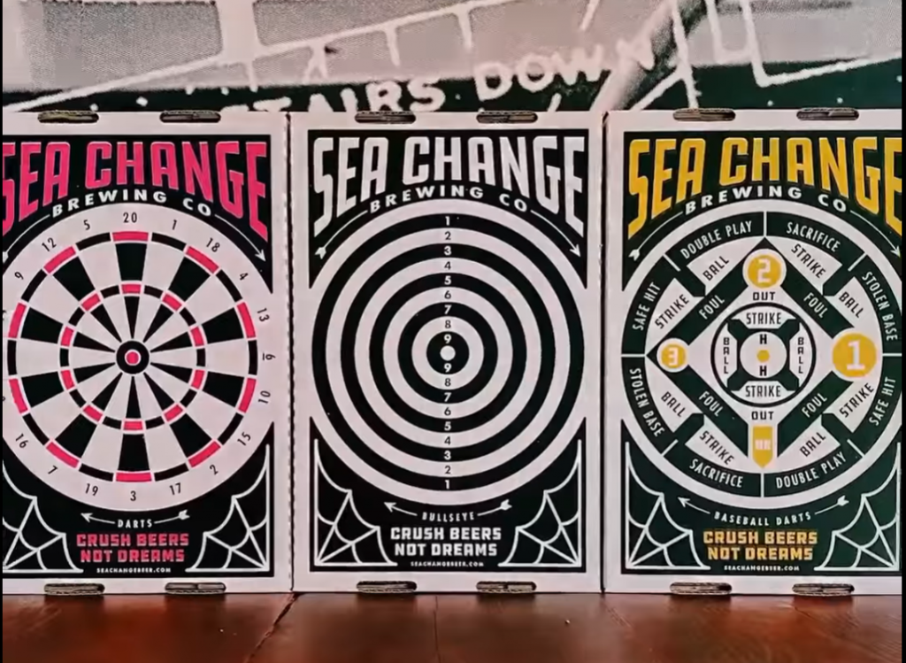 Sea Change Brewing - Corrugated Beer Trays