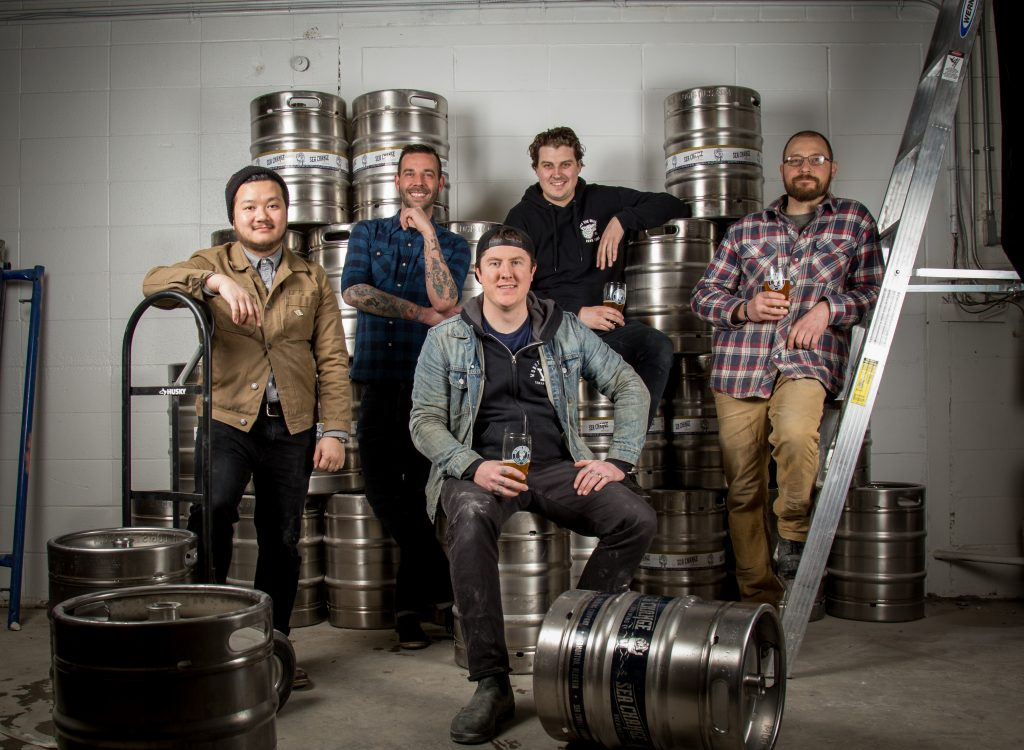 Founders of Sea Change Brewing