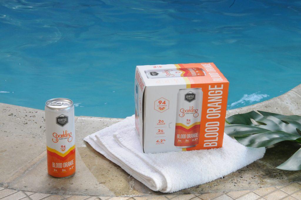 Blood Orange Sparkling Cider