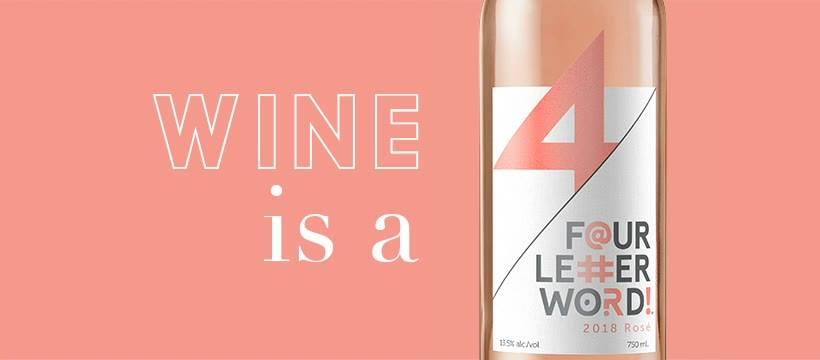 Goodridge&Williams - 4 Letter Word Wine - Rose