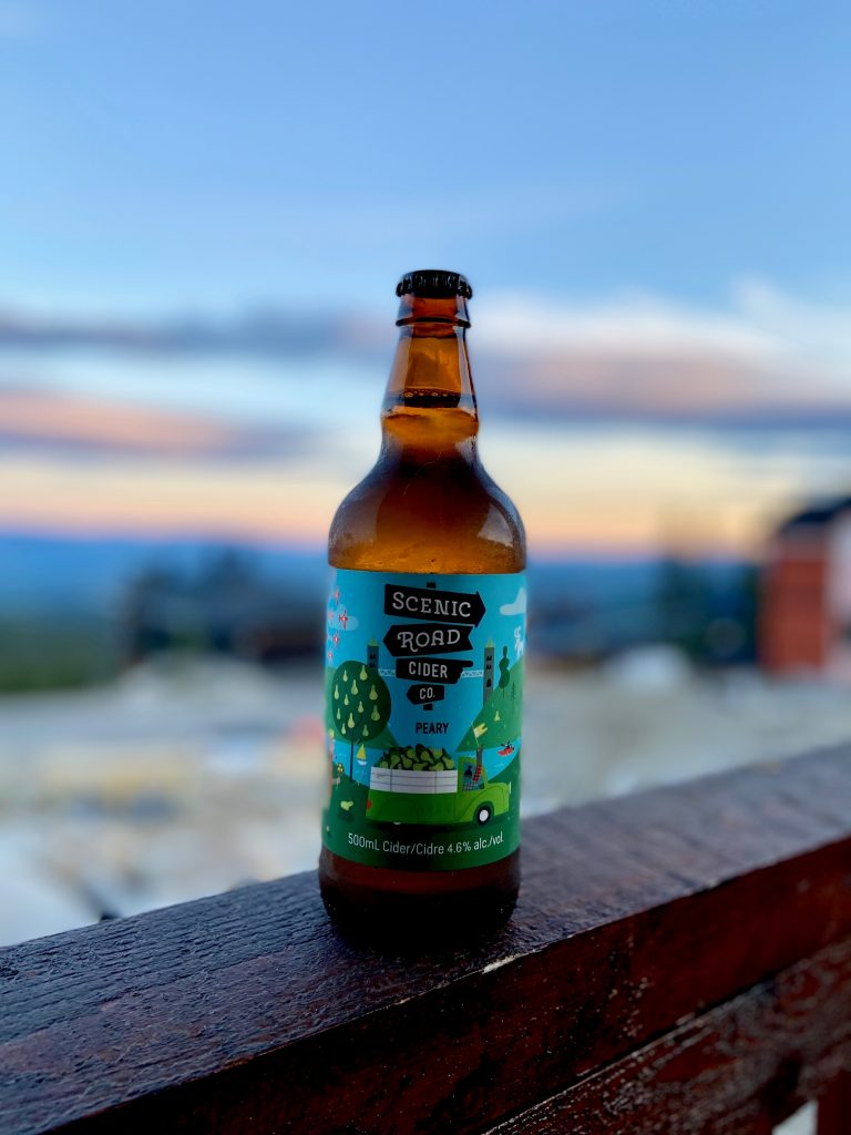 Scenic Road Cider - Peary Label
