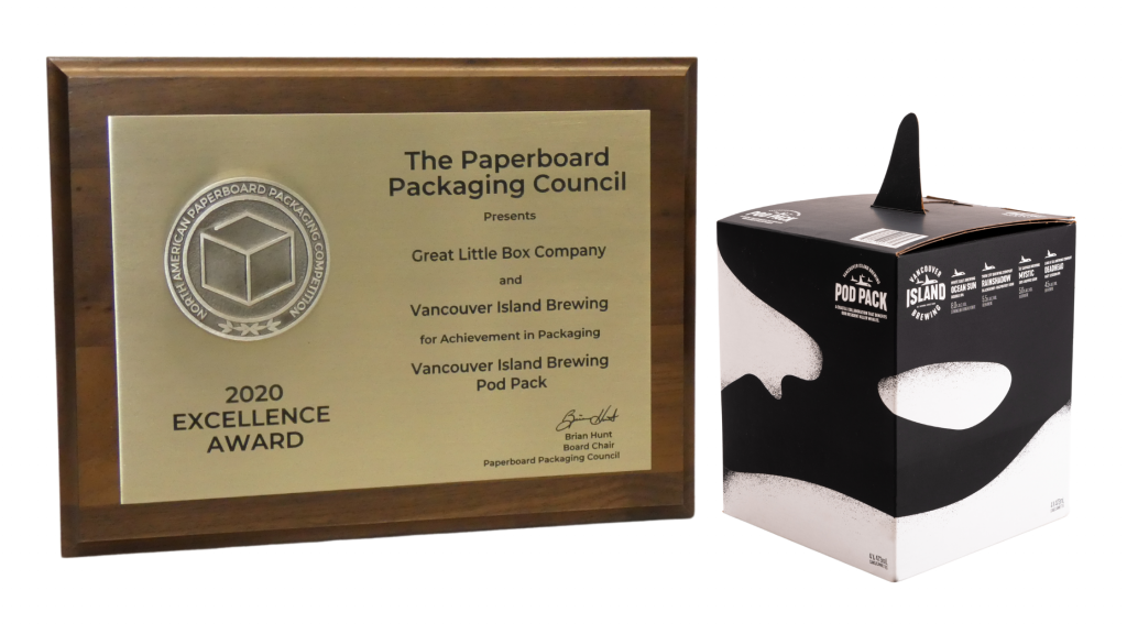 Case Study - Vancouver Island Brewing Co. Pod Pack - 2020 Excellence Award at the PPC