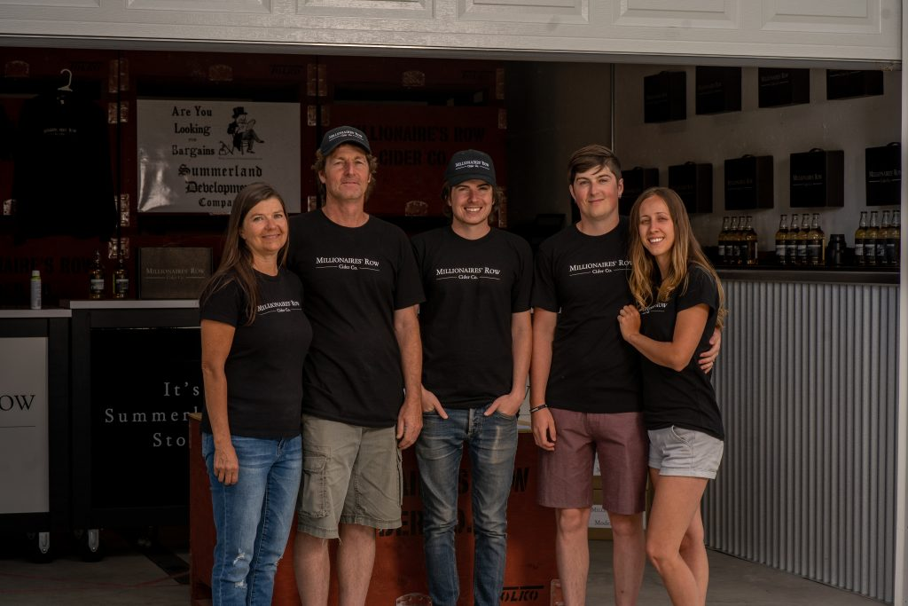 Okanagan Cidery with Rich History: Millionaires' Row Cider