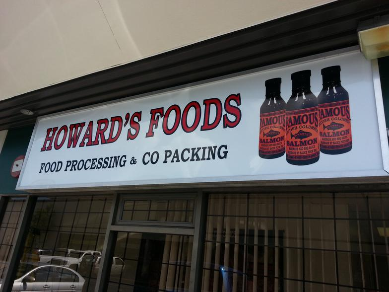 Howard's Foods Inc - Food Processing and Co-Packing