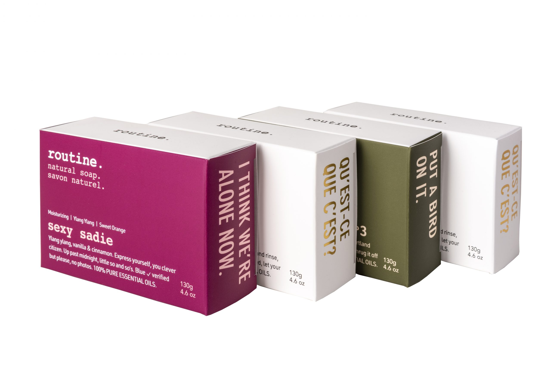 Routine Natural Soap Box